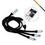 Custom Remington 3in1 Charging Cable-Silver