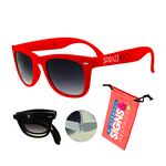 Foldable Sunglasses Red