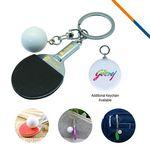 Table Tennis Keychain-Black