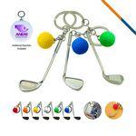 Golf Clubs Keychain
