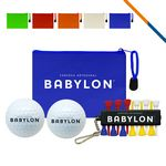 Custom Double Golf Ball Set