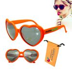 Love Sunglasses Orange