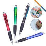 Custom Amber 2in1 Stylus Pen
