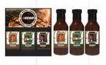 Custom 3 Pack BBQ Sauce (350 ml each)- Black