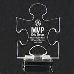 Custom Acrylic and Crystal Engraved Award -