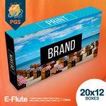 Custom Full color customized mailer box with UV 20
