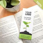 Simple Sprout Small Seed Paper Bookmark