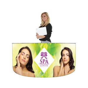 EZ Fabric Counter - Curved Quad Graphic Package