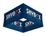 Skybox Hanging Banner Square 8'dia x 32
