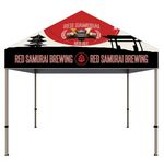 Custom ONE CHOICE - 10 ft. Steel Canopy Tent Dye-Sub Graphic Package
