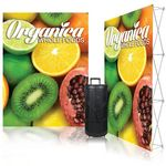 Custom 5 ft. Ready Pop Fabric Display - 7.5'h Straight Single-Sided Graphic Package (No Endcaps)