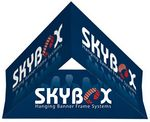 Skybox Hanging Banner Triangle 12'dia x 36