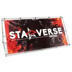 Foundation Outdoor Banner Stand Double-Sided Graphic Package