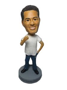 Stock Body Casual Hanging Out 2 Male Bobblehead