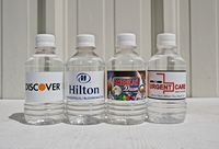 Custom Labeled Bottled Water 10oz