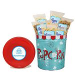 Custom 3-1/2 Gallon Tin - Classic Pkg With Labels, Popcorn Blast