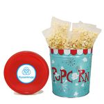 Custom 3-1/2 Gallon Tin - Movie Style Without Labels, Popcorn Blast