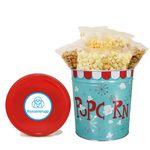 Custom 3-1/2 Gallon Tin - Classic Pkg Without Labels, Popcorn Blast