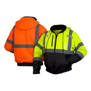 Custom Pyramex Lumen-X Winter Wear Hi-Visibility Jacket