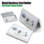 Custom Metal Business Card Holder