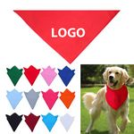 Large Pet Triangle Bandannas