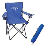 Custom Nylon Folding Chair With Carrying Bag