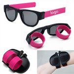 Slap Foldable Bracelet Sunglasses