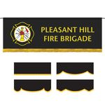 2.5' x 8' Parade Lead Banner with Fringe