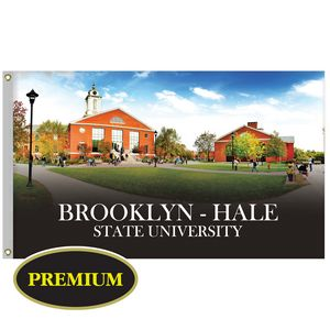 3' x 5' Digitally Printed Single Reverse Knitted Polyester Flags