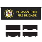 2.5' x 8' Parade Lead Banner - No Fringe