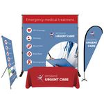 Custom Trade Show Booth Display - Basic Package