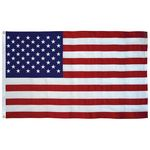 Custom 3' x 5' Tough Tex U.S. Flag with Heading and Grommets