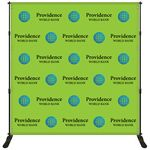 Custom 8' x 8' Backdrop Banner Kit