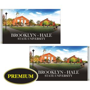 3 x 5 Double Sided Digitally Printed Knitted Polyester Flags