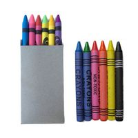 6 Pack Crayons W/Box