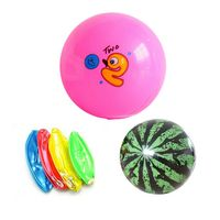 "PVC Children Beach Inflatable Toy Ball-8.7""Diam"