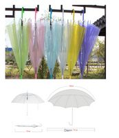 Multi Color Transparent Advertising Umbrella