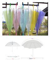 Multi Color Transparent Advertising Umbrella