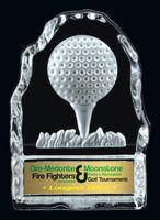 Golf Tee Glass Iceberg Award (4.25 H)