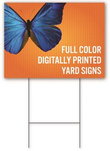 Yard Sign 12 x 24 - Double-Sided