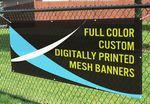 Banner Mesh 3' x 8'