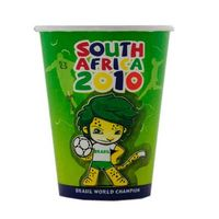 8 Oz. - 1 Color Paper Cup w/Ad