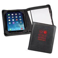 Regal™ iPad Zipper Composition Padfolio