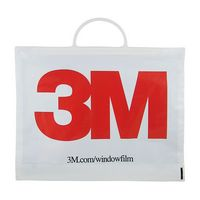 "Rigid Snap Handle Plastic Bag (12""X15""X3"") 2.5 Mil"