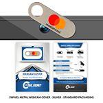 Custom Webcam Cover Swivel Metal + Custom Packaging Packaging
