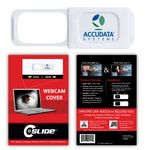 Custom Webcam Cover 1.0 - White with Standard Packaging