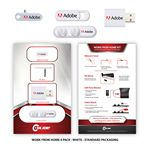 Custom Work From Home 4 Pack with Cable Quack - Standard Packaging