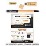 Custom Eco-Desk 3 Pack with Standard Packaging