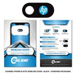 Custom Webcam Cover Channel Phone Black Plastic + Custom Packaging