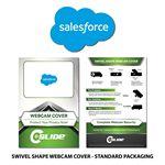 Custom Custom Shaped Webcam Cover with Standard Packaging